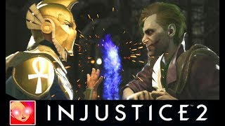 Injustice 2 - Doctor Fate Vs The Joker All Intros/Clashes Quotes