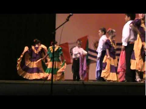 Punto Guanasteco Dance - West Kearns Third Grade Dual Immersion - 2012
