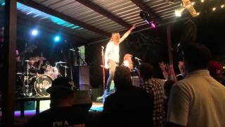 Saliva live at the backyard in Waco March 16 2016