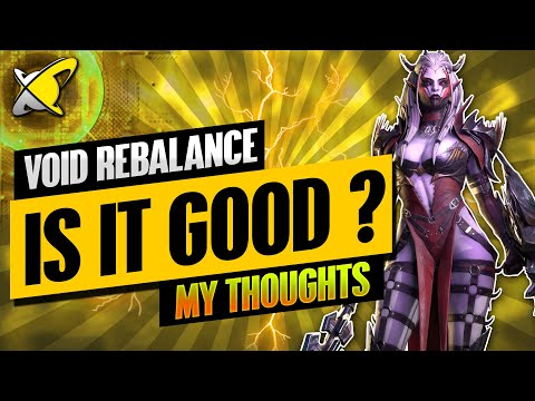 MY THOUGHTS ON THIS VOID REBALANCE | Update 4.20 Highlights | RAID: Shadow Legends