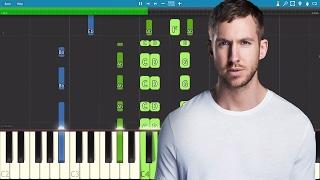 Calvin Harris - Heatstroke - Piano Tutorial ft. Young Thug, Pharrell & Ariana Grande