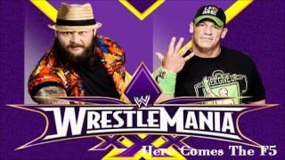 Wrestlmania XXX John Cena vs Bray Wyatt Matchcard + Theme Song