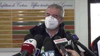 CROTONE, BORRELLI: INTERVENTO DELLA PROTEZIONE CIVILE PER L'ALLUVIONE