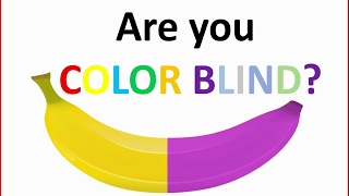 Are you colorblind? - How good are your eyes - Brain test 2019