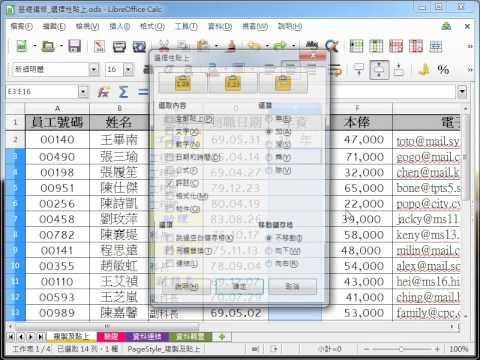 LibreOffice Calc 教學_選擇性貼公式