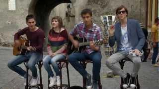 Criss, Vlad, Liviu & Bubu - She Will Be Loved (cover) in Pariu cu viata