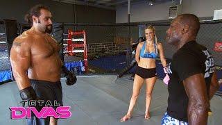 WWE Total Divas: Rusev y Lana entrenan días antes de su boda