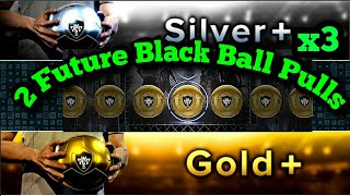 2 FUTURE BLACK BALL PULLED in Gold+ & Silver+ Pack Opening pes 18 Mobile