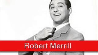 Robert Merrill: Rossini, 'La Danza'