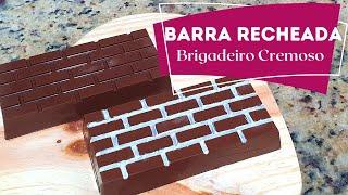 BARRA RECHEADA COM BRIGADEIRO CREMOSO