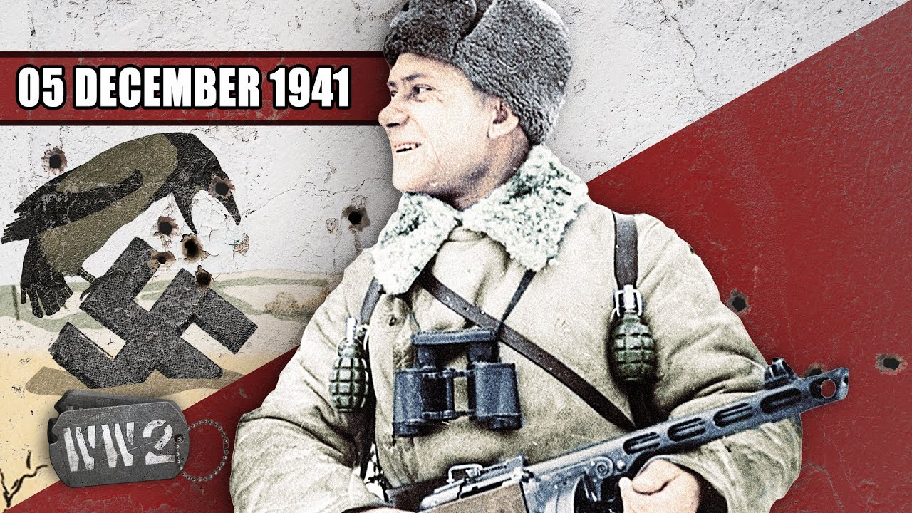 Winter is Here! The failure of Barbarossa - WW2 - December 5, 1941