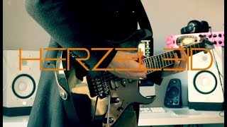 Rammstein - Herzeleid (Live aus Berlin) Guitar cover by Robert Uludag/Commander Fordo