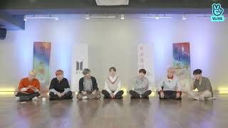 BTS dancing to Suga's Seesaw