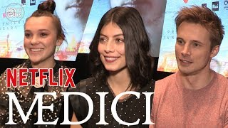 Medici: The Magnificent - Alessandra Mastronardi, Synnøve Karlsen & Bradley James Interviews