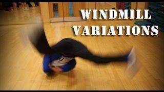 bboy windmill variations width=