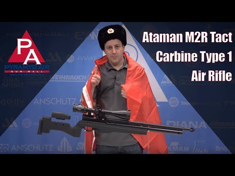 Video: Ataman M2R Tact Carbine Type 1 Air Rifle   Pyramyd Air