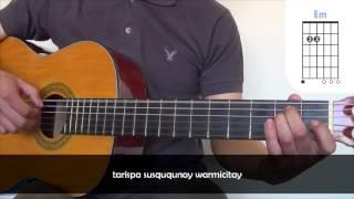 Munasq'echay - Kjarkas (Cover Con Acordes para guitarra)