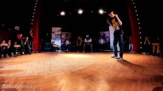 Ćwierćfinał Hip-Hop Male -  Mulla Zuev vs Monek  | SDK Poland 2013 | WWW.SZKOLYTANCA.PL