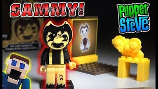 Bendy and the Ink Machine Mini Projector w/ Sammy Lawrence Playset UNBOXING Construction Set BATIM
