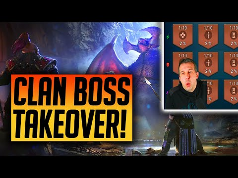 Building A Team to Deal with Affinity Clan Boss! Account Takeover! | Raid: Shadow Legends