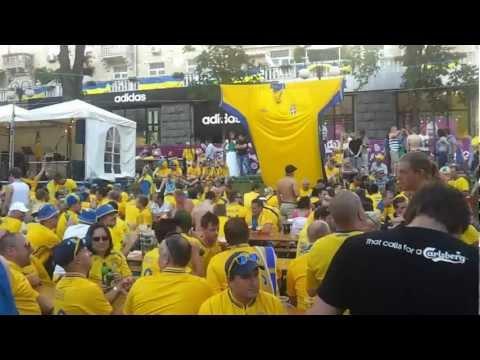 Euro 2012 fans in Kiev