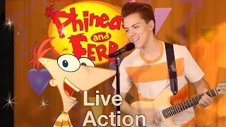 Phineas & Ferb Live Action IRL - Gitchee Gitchee Goo