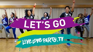 Let's Go | Zumba® | Live Love Party | JPOP