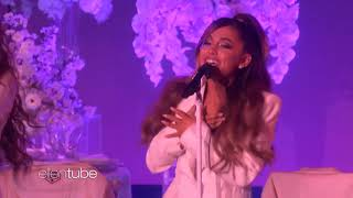 Ariana Grande- Thank You next world premiere the ellen show 2018  HD