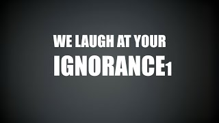 Stop Stereotypes: We Laugh at your Ignorance PSA (Part 1)