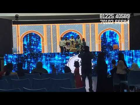 LED Screen Video Wall Stage Decoration | Wedding Reception Event Neyveli India 91 81225 40589 (WA)