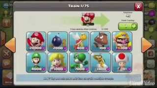 Super mario cell Clash of Clan