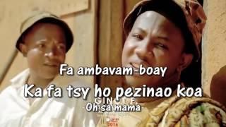GINOT F. - Ambavam-boay lyrics