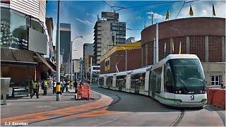 Tranvía de Ayacucho Medellín Colombia Noviembre 2015