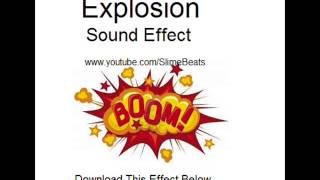 Explosion Sound Effect By Slime Beats