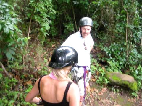 Canopy Tour Da Flying Frog video by San Juan del Sur, Nicaragua with NicaEco
