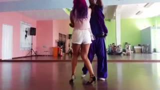 Workshop Kizomba Helio Santos e Ana Oliveira escola AllDance Academy 15/07/2017