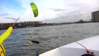 Testing the Kite Tender 400 in light winds