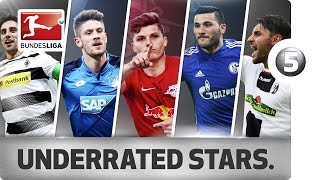 Kolasinac, Stindl & Co. - The Most Underrated Players of 2016/17 So Far ...
