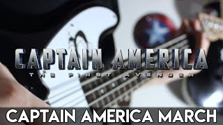 Captain America March (Captain America The First Avenger) Guitar Cover