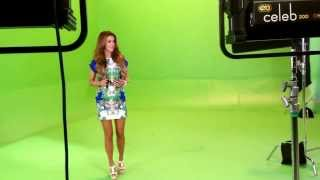 Ninel Conde - Grabación de videoclip con La Banda Cuisillos