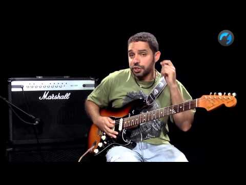Tétrades no Blues (aula técnica de guitarra)