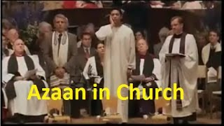 Azan in Church (preferably with headphones) to feel the sound effect.