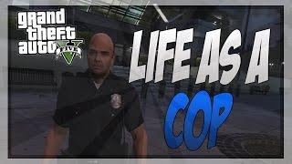 """GTA 5 - """"Life As a Cop!"""" Xbox Director Mode"""