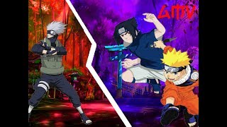 Kakashi vs Naruto und Sasuke AMV (Nightcore My Demons)