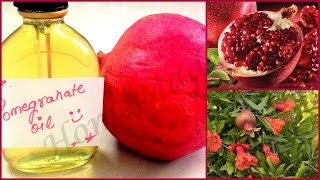 DIY Pomegranate oil at home ||Use for face,hair and body(Multipurpose oil)||