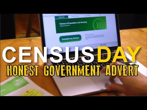 Honest Government Ad | CensusFail
