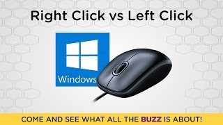 What is the Difference Between Right Click and Left Click on a PC