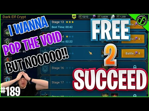 I WANNA POP THIS VOID SHARD SO BAD!!! But I Shouldn't... Right? | Free 2 Succeed - EPISODE 189