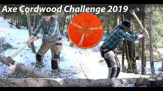 Axe Action for the Cordwood Challenge 2019