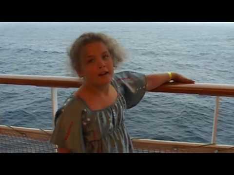 Rachel on the Sinfonia Cruise